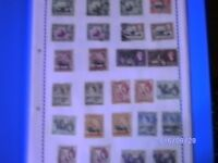 Mixed Stamp Collection German French New Zealand Brittish