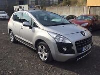 2012 PEUGEOT 3008 1.6 ACTIVE HDI +DAMAGED++SALVAGE++REPAIRED