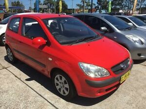 2008 Hyundai Getz TB S Red Manual Hatchback Sandgate Newcastle Area Preview