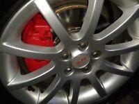 Toyota Avensis mk2 16inch SR alloy wheels + tyres £225