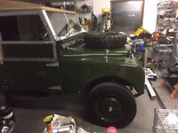 Land Rover Series 1 1955 86' complete nut and bolt rebuild