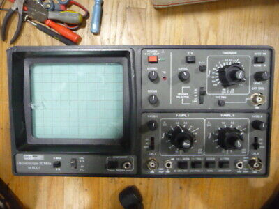 Bbc Goertz Metrawatt Oscilloscope Omega M6001 20mhz