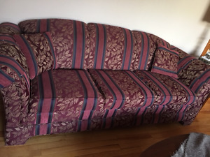 Beautiful couch and matching chair for sale