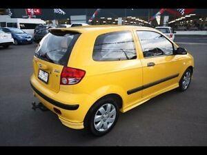 2003 Hyundai Getz GL TB Yellow 5 Speed Manual Hatchback Kingsville Maribyrnong Area Preview