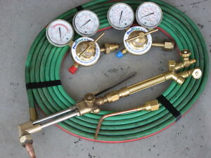 Oxygen & Acetylene Set  Praxair