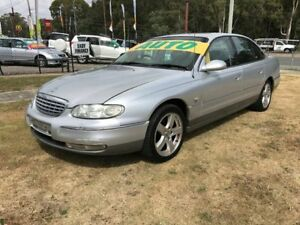 2001 Holden Statesman WH V6 Silver 4 Speed Automatic Sedan Clontarf Redcliffe Area Preview