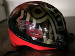 lightning mcqueen toddler bike helmet