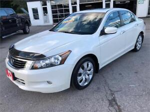 2008 Honda Accord EX-L SEDAN LEATHER BLUETOOTH....MINT COND.
