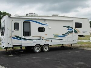 1998 GULFSTREAM SEAHAWK 28RLS 5TH WHEEL TRAILER