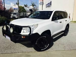2012 Toyota Landcruiser Prado KDJ150R 11 Upgrade GX (4x4) Glacier White 6 Speed Manual Wagon Beckenham Gosnells Area Preview