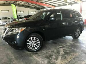 2013 Nissan Pathfinder R52 MY14 ST X-tronic 4WD Blue 1 Speed Constant Variable Wagon Welshpool Canning Area Preview