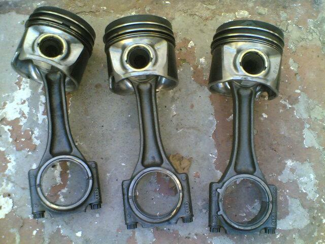 vw polo 1.4tdi pistons/conrods ''AMF''