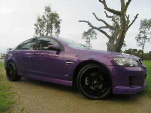 2007 Holden Commodore VE SS V Purple 6 Speed Sports Automatic Sedan
