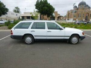 1986 Mercedes-Benz 230 W124 TE White 4 Speed Automatic Wagon Beverley Charles Sturt Area Preview