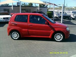 2004 Suzuki Ignis Sport Red 5 Speed Manual Hatchback Coopers Plains Brisbane South West Preview