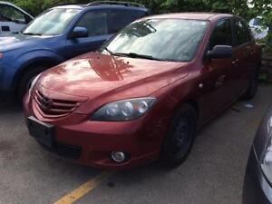 2006 Mazda 3 S 2.3 Hatchback, Auto, Sporty, Alloys, Power Group!