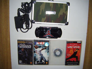 PSP with accessories for sale