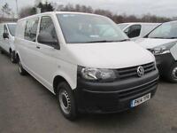 Volkswagen Transporter T32 2.0 Tdi 102Ps Startline Kombi Van DIESEL WHITE (2014)
