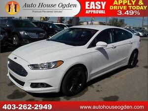 2014 Ford Fusion SE LEATHER AWD 90DAYSNOPYMNT!