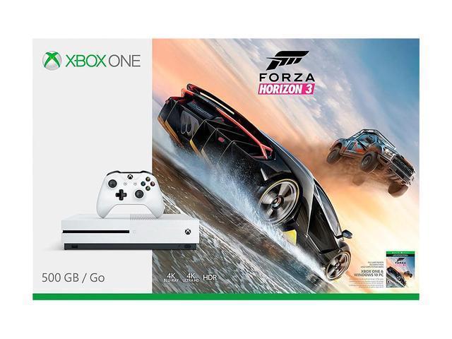 Xbox One S 500GB Console - Forza Horizon 3 Bundle