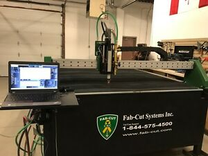 Fab-Cut 5' x 10' CNC HD plasma cutting table