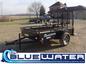 2017 Load Trail Single Axle Solid Side Utility SS Model!! London Ontario image 1