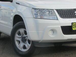 2011 Suzuki Grand Vitara JB MY09 White 4 Speed Automatic Wagon Parramatta Parramatta Area Preview