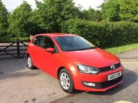 VOLKSWAGEN POLO 1.2 PETROL 2014 , 54889 MILES ONLY immaculate condition CAT C