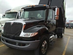 2012 International 4300 4x2, Used Gravel Truck