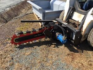 Skidsteer Hydraulic Trencher