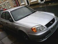 1.3L Silver Hyundai Accent Petrol for Sale