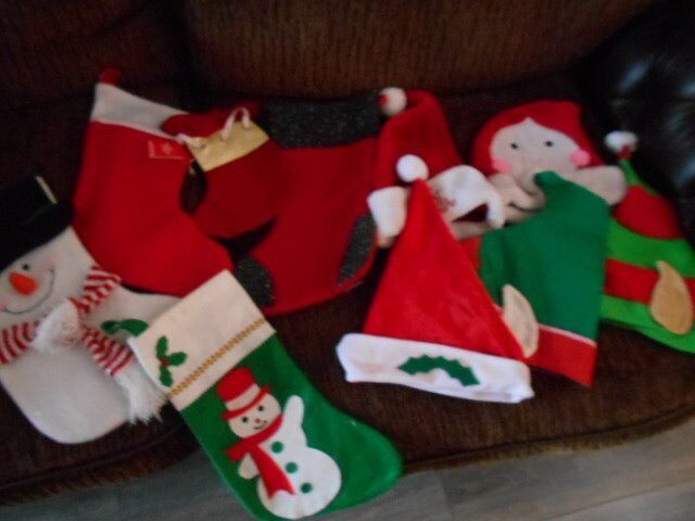 Christmas Hats Stockings Bundle In Donnington Shropshire