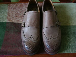 MEN'S GBX LEATHER SHOES SIZE 9.5/42 1/2 ''NEW'' West Island Greater Montréal image 1