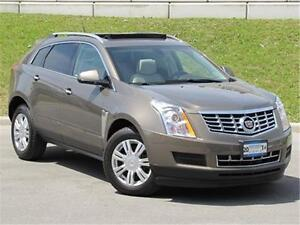 2014 Cadillac SRX LUX With Roof Navi