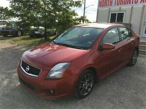 2010 NISSAN SENTRA SE-R - SUNROOF - BACK UP CAMERA - NAVIGATION