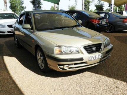 2005 Hyundai Elantra XD MY05 Gold 5 Speed Manual Sedan Minchinbury Blacktown Area Preview