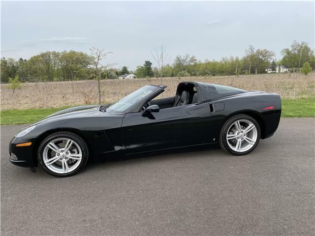 2008 Black Chevrolet Corvette Coupe  | C6 Corvette Photo 10