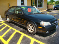 2003 Nissan Maxima Saftied, Etested and Warrantied