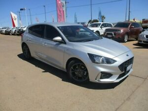 2019 Ford Focus SA 2019.25MY ST-Line Silver 8 Speed Automatic Hatchback