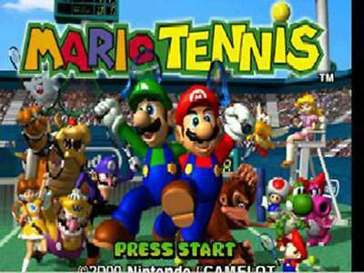 Mario Tennis - Nintendo N64 Game