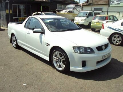 2008 Holden Commodore VE SV6 White 5 Speed Automatic Utility