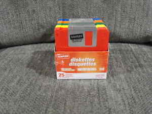 """Box of 23 - 3.5"""" Computer Diskettes from Staples"""