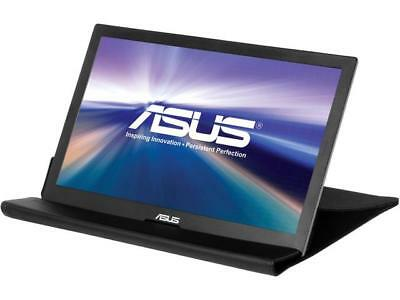 "ASUS MB168B Silver / Black 15.6"" 11ms Widescreen LED Backlight HD Portable USB-p"