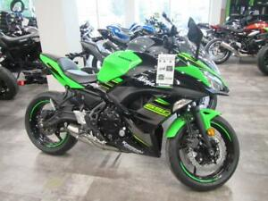 Coopers Motorsports has this 2018 Ninja 650 is priced to sell.