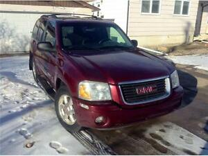 2003 GMC Envoy SLT 4X4 V6  HEATED LEATHER / POWER ROOF SWEET! Edmonton Edmonton Area image 3