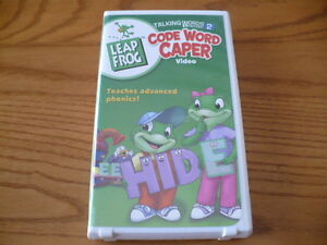 Leap Frog Code Word Caper VHS