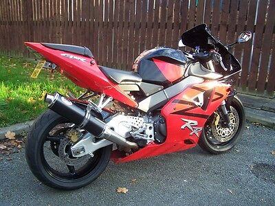 Honda CBR929 954 2000 - 2003 Fireblade Black round ROAD LEGAL Motorbike Exhaust