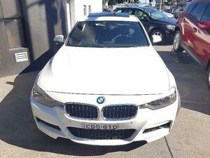 2013 BMW 320D F30 White Sports Automatic Sedan Concord Canada Bay Area Preview