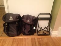 Bicycle Front Racks and Panniers