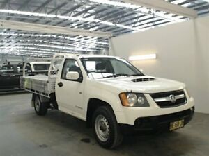 2010 Holden Colorado RC MY10 LX (4x2) White 5 Speed Manual Cab Chassis Beresfield Newcastle Area Preview
